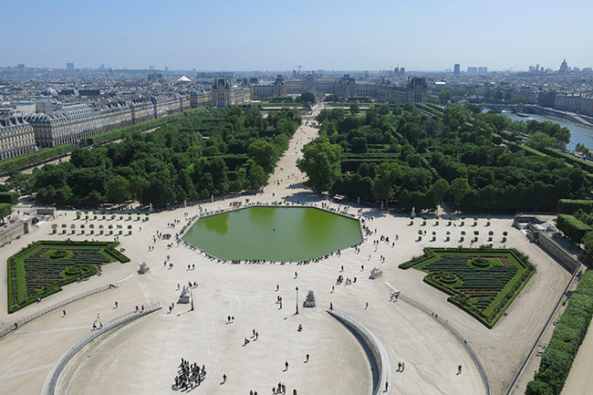 jardin des tuilerie paris
